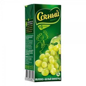 """Яблочно-виноградный нектар """"Сочный фрукт"""""""